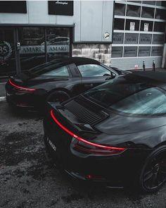 black twins 911 Carrera & 911 Targa