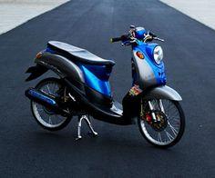 Modifikasi Yamaha Fino Simple dan Sederhana