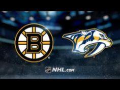 Boston Bruins vs Nashville Predators NHL Game Recap