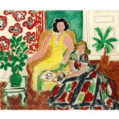 View Robe jaune et robe arlequin Nezy et Lydia by Henri Matisse on artnet. Browse upcoming and past auction lots by Henri Matisse. Henri Matisse, Matisse Art, Matisse Paintings, Watercolor Paintings Abstract, Watercolor Artists, Abstract Oil, Oil Paintings, Painting Art, Landscape Paintings