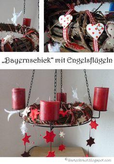 Adventskranz Weihnachtsdeko  Christmas Decoration