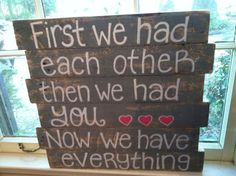 Wood Pallet Art - Love