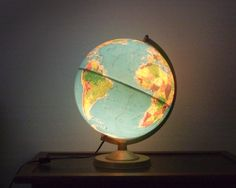 Illuminated Replogle World Horizon Series Globe by smilemercantile