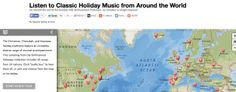 Listen to classical holiday music from around the world - 56 songs from 24 nations