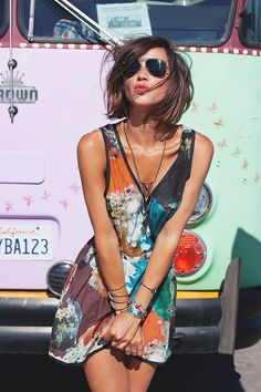 Robe Heimstone Bracelet Free People Colliers Asos & By Opaline - Cool Outfits, Summer Outfits, Summer Dresses, Wonderful Day, Style Parisienne, Edgy Chic, Boho Fashion, Womens Fashion, Alternative Fashion
