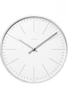 Radius Design - Flexible wall clock, black | Clocks | Pinterest ...
