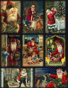"""Vintage """"Santa Clause""""."""