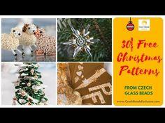Video! 30 BEST CHRISTMAS PATTERNS from Czech Glass Beads   #czechglassbeads  #czechbeadsexclusive