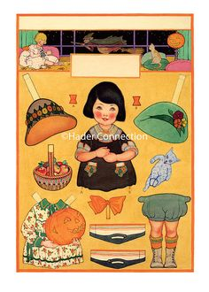 Hader paper doll_Good Housekeeping magazine, Oct. 1923