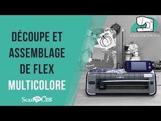 Tutoriel ScanNCut Découpe et Assemblage Flex Multicolore - YouTube Silhouette Portrait, Silhouette Studio, Scanncut Cm900, Image Youtube, Scan N Cut, Cut Image, Cut Canvas, Brother Scan And Cut, Kit