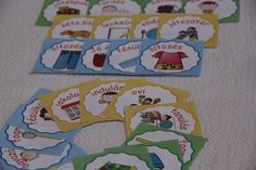 napirend kártyák Pre School, Classroom Management, Baby Kids, Diy And Crafts, Education, Erika, Fictional Characters, Creative, Fantasy Characters