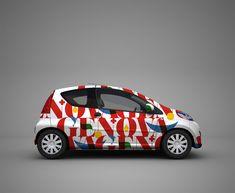 Manes Design. Graphic Design, Art & Love. Cambridge + London,Uk - Genova City Branding