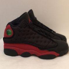 798bd3f6e37 Jordan Shoes   Air Jordan 13 Retro Bred   Color: Black/Red   Size: 5