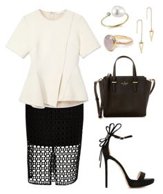 """Untitled #106"" by tazkiasaras on Polyvore featuring River Island, Alexander Wang, Nicholas Kirkwood, Kate Spade, Rebecca Minkoff, mizuki and Bohemia"