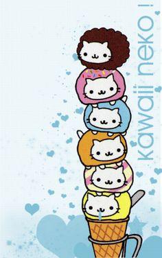 Nyan Nyan Nyanko stationary #sanx #cat #kitty