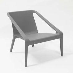 LIFE INTERIORS - $119 Chen Zhiyi Luca Lounge Chair - Grey