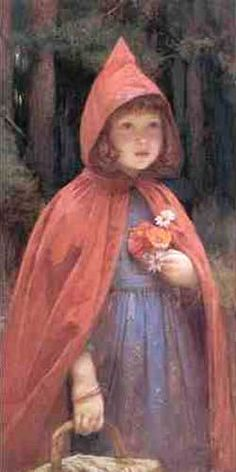 Little Red Riding Hood Brewtnall Image