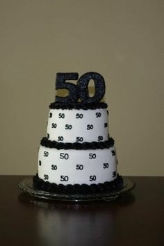 50th Birthday Cake For Women Party Celebration
