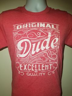 ea348382169 This super soft pre shunk cotton shirt is perfect for any DUDE. Extremely  light made