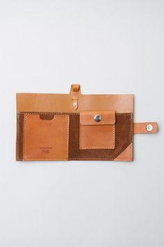 Folk Burts Wallet in Ambra-SR