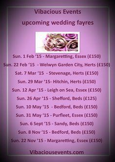 Vibaciousevents.com #Wedding #exhibition #weddingsuppliers #hertfordshire #essex #bedfordshire