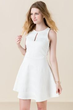 Springbrook Solid Textured Dress $44.00