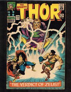 Mighty Thor #129 ~ The Verdict of Zeus! / Hercules ~  (3.0) WH