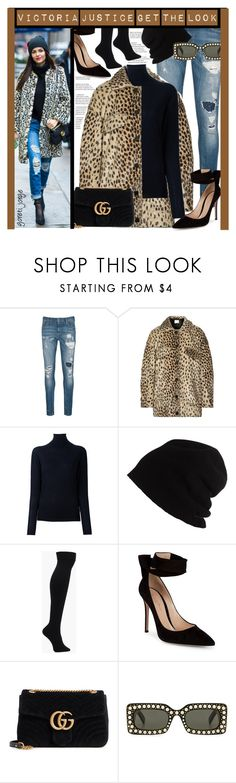 """""""Victoria Justice - Get The look"""" by goreti ❤ liked on Polyvore featuring Scotch & Soda, By Malene Birger, STELLA McCARTNEY, SCHA, Gianvito Rossi, Gucci, Oday Shakar, StreetStyle, CelebrityStyle and polyvoreeditorial"""