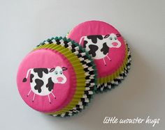 Cool Cow Cupcake Liners