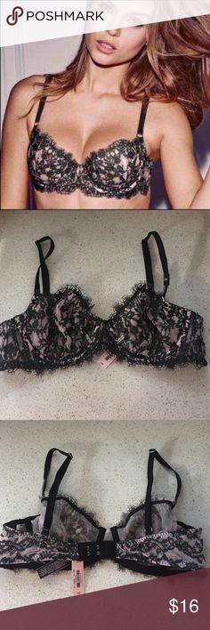 New! 34B Victoria's Secret unlined bra Brand new! Victoria's Secret unlined bra. Size 34B. No trades Victoria's Secret Intimates & Sleepwear Bras