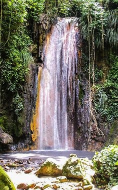 Take in the natural wonders of St. The Diamond Waterfalls cascade through the oldest botanical gardens of the island in Soufriere. Caribbean Vacations, Royal Caribbean Cruise, Need A Vacation, Vacation Spots, Ancient Ruins, Hammocks, 25th Anniversary, Natural Wonders, Princess Diana