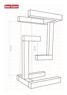 Diy Wooden Projects, Wood Shop Projects, Cool Woodworking Projects, Wooden Diy, Woodworking Plans, Wood Crafts, Welded Furniture, Steel Furniture, Diy Furniture