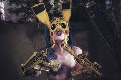 PIKA-PKK ⚠️ ☢️ 💀  WASTELAND WARRIORS  Picture by thomas sprenger 📸  #wastelandwarriors #wasteland #endzeit #postapocalyptic #wackenopenair #wacken #wackenopenairofficial #jadedjewall #psycho #fighter #wastelandweekend #cagefight #pika #pikachu #alien #monster #freak #creature #cyber #distopia #futurestyle #futuristic #cyberpunk
