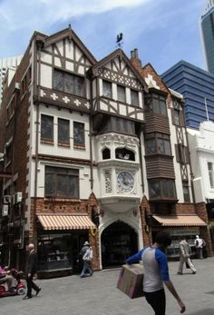 London Court a charismatic and historic mall/thoroughfare in the Perth CBD.