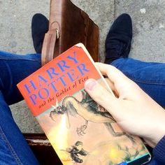 """Only kids read Harry Potter. 