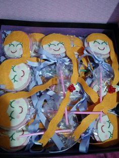Lollypop rapunzel — lembrancinhas