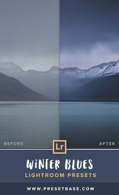 Winter Blues – Lightroom Presets (Artist Series) This collection of Lightroom presets is inspired by the almost endless range of blue tones of the winter months. Add an artistic and unique look to your images with only a few clicks.