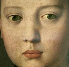 Agnolo Bronzino - Maria de medici (Detail)
