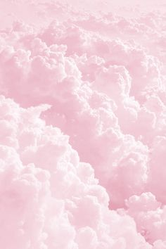 Fluffy Pink Clouds iPhone wallpaper