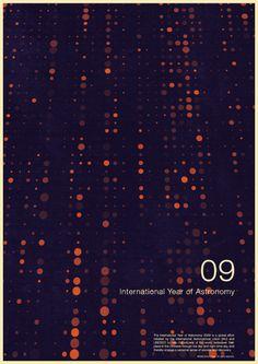 International Year of Astronomy 09 - excites | Graphic Designer | Simon C Page
