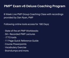 Pmp exam prep 8th edition pdf by rita mulcahy free full download pmp exam v6 deluxe coaching program pmp pmpexam fandeluxe Choice Image