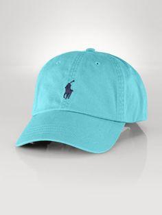 Polo Ralph Lauren Chino Baseball Hat - Polo Ralph Lauren Hats & Caps - Ralph Lauren UK