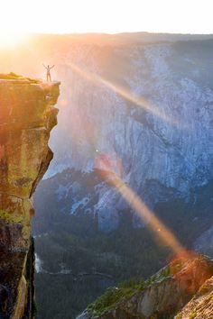 Taft point. Yosemite national park.
