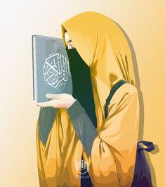 Gambar Kartun Muslimah Bercadar Fotografer Hijab Niqab Di 2019