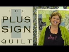MSQC The Plus Sign Quilt tutorial, youtube