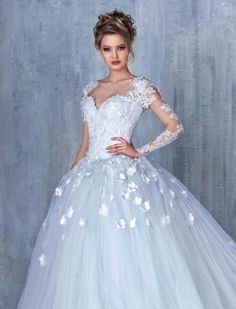 Ball+Gown+Wedding+Dresses+❤+See+more+:+http://bugelinlik.com/en/wedding-dresses/ball-gown/4