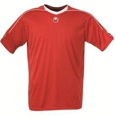 Kinder Fussballtrikot STREAM II rot-weiß (Uhlsport)
