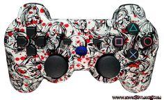 #customcontroller #kwikboymodz #moddedcontroller #zombies #zombieps3controller #zombiebloodsplatter #bloodsplatter #zombiecontroller KwikBoy Modz - Zombie Blood Splatter DualShock 3 PS3 Controller, $79.99 (http://www.kwikboymodz.com/zombie-blood-splatter-dualshock-3-ps3-controller/)