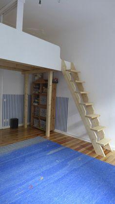 hochbetten design and betten on pinterest. Black Bedroom Furniture Sets. Home Design Ideas