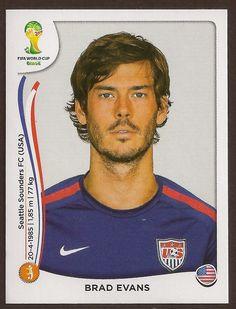 #Free @Listia 2014 FIFA World Cup Panini Sticker #556 - Brad Evans - USA http://www.listia.com/auction/19635677-2014-fifa-world-cup-panini-sticker-556